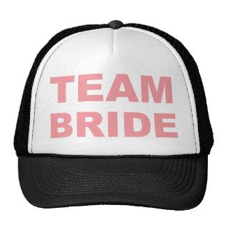 Team Bride Wedding Hen Party Mesh Hat