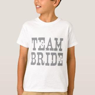 Team Bride Western Grey T-Shirt
