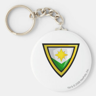 Team Brightvale Logo Basic Round Button Key Ring