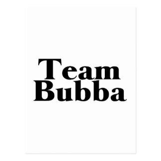 Team Bubba Postcard