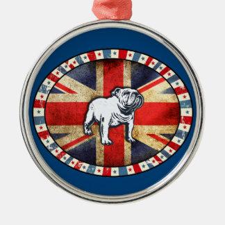 Team Bulldog Holland Metal Ornament
