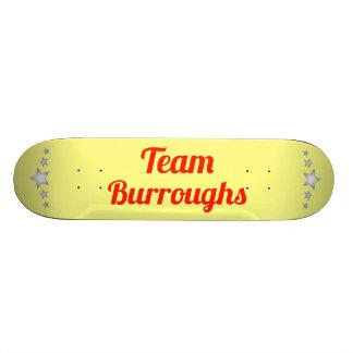 Team Burroughs Custom Skate Board
