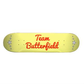 Team Butterfield Custom Skate Board