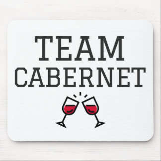 Team Cabernet Mouse Pad