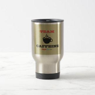 Team Caffeine Travel Mug