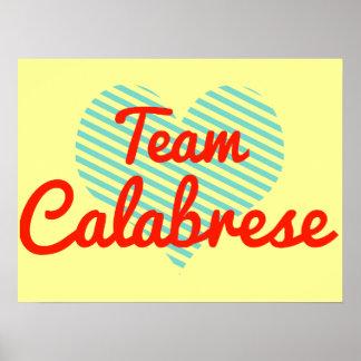 Team Calabrese Print