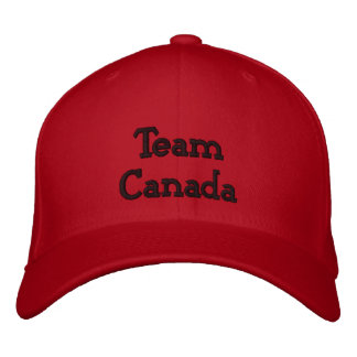 Team Canada Embroidered Baseball Cap