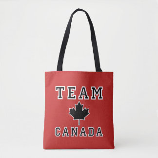 Team Canada Tote Bag