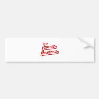 Team Cancer Survivor Bumper Sticker
