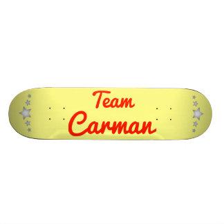 Team Carman Skateboards