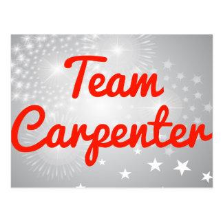 Team Carpenter Post Card