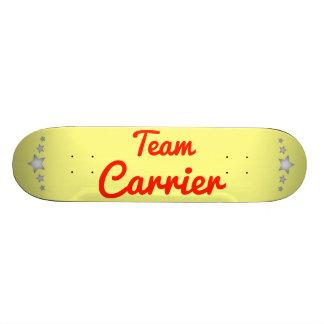 Team Carrier Skateboard Decks