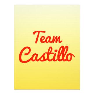 Team Castillo Personalized Flyer