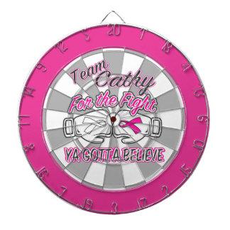 Team Cathy Custom Dartboard