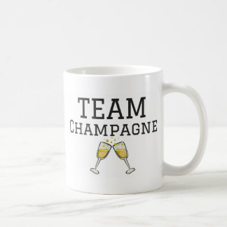 Team Champagne Coffee Mug