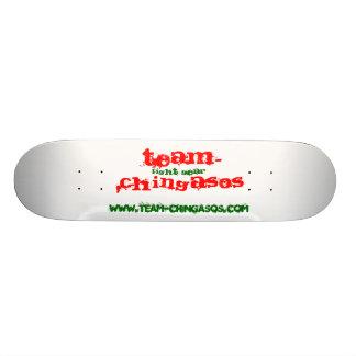 TEAM-CHINGASOS, fight gear, www.team-chingasos.com Custom Skateboard