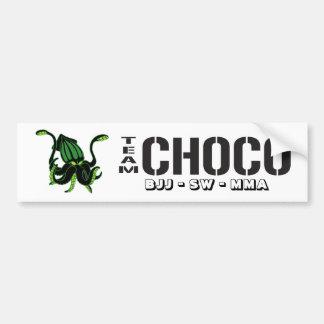 Team-Choco Bumper Stickers