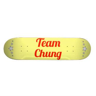 Team Chung Skate Board Decks