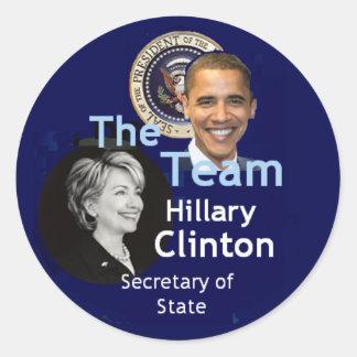 Team Clinton Sticker