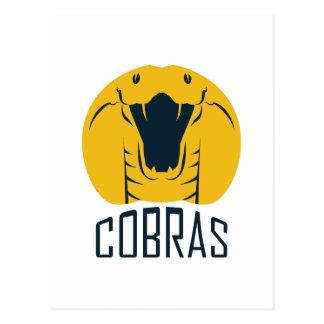 TEAM COBRAS POSTCARD