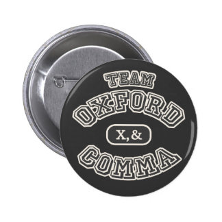 Team Comma II Pinback Buttons