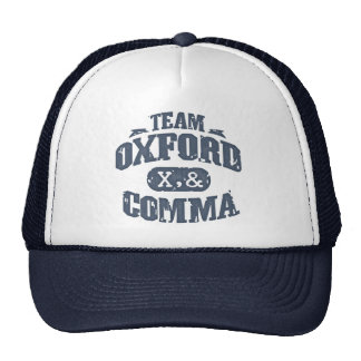 Team Comma Mesh Hat