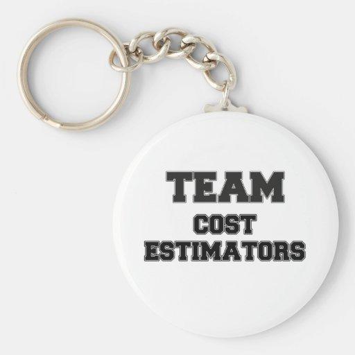 Team Cost Estimators Keychains
