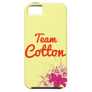 Team Cotton iPhone 5 Covers