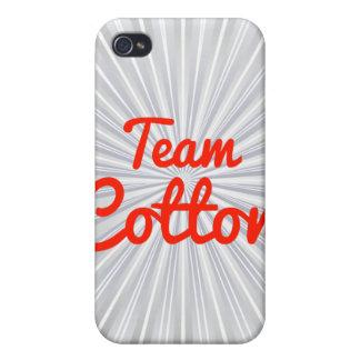 Team Cotton iPhone 4/4S Cases