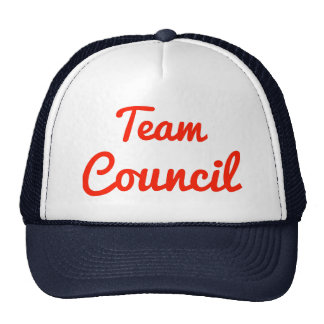 Team Council Mesh Hats