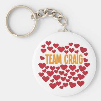 Team Craig Key Ring