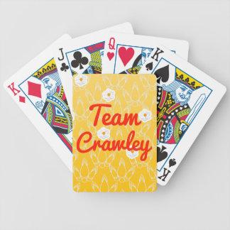 Team Crawley Bicycle Poker Deck