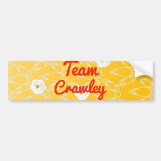 Team Crawley Bumper Stickers