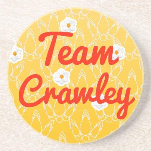 Team Crawley Drink Coaster