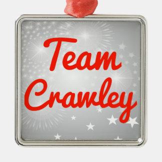 Team Crawley Ornament