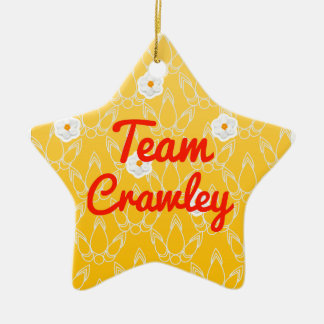 Team Crawley Christmas Ornament