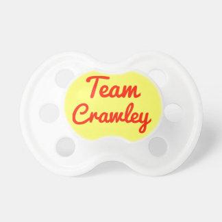 Team Crawley Baby Pacifier