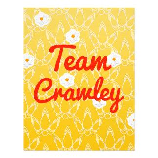 Team Crawley Full Color Flyer