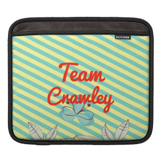 Team Crawley iPad Sleeve