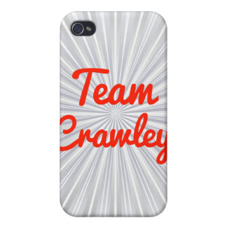 Team Crawley iPhone 4 Cases