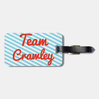 Team Crawley Bag Tags