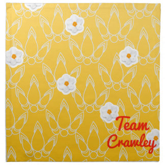 Team Crawley Printed Napkins
