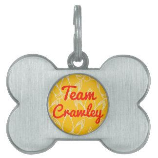 Team Crawley Pet Name Tags