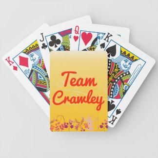 Team Crawley Deck Of Cards