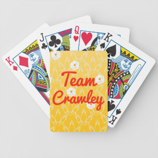 Team Crawley Bicycle Card Deck