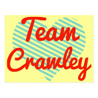 Team Crawley Post Cards
