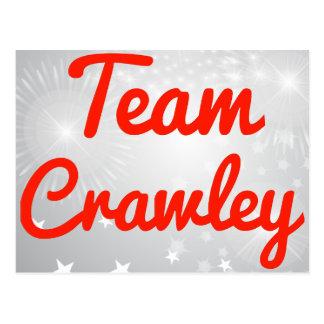 Team Crawley Post Card