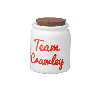 Team Crawley Candy Dish