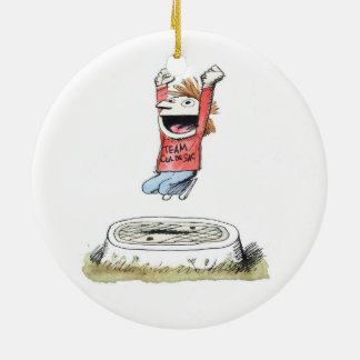 Team Cul de Sac Ornament