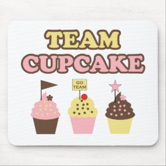 Team Cupcake Mouse pad for cupcake fans